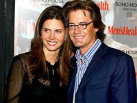 Kyle MacLachlan et sa femme