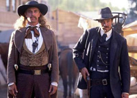 Deadwood : Wild Bill Hickok & Seth Bullock