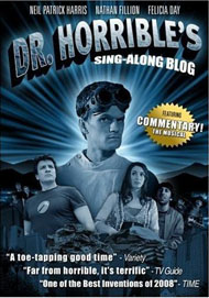 Dr Horrible's Sing-Along Blog DVD cover