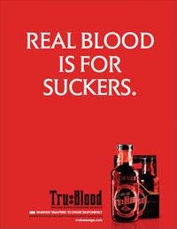 Publicité True Blood