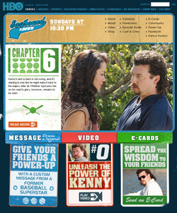 Eastbound and Down site officiel