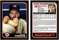 Baseball card Kenny Powers